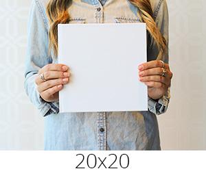 20x20см